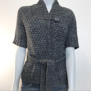H&M Wool Blend Single Button Cardigan Wrap Sweater